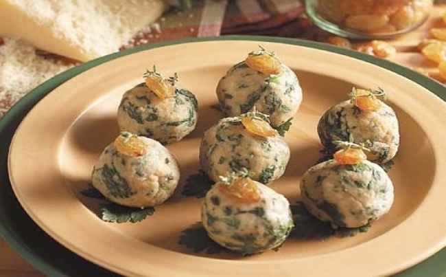 Alb ndigas de verduras recetas menu per - Albondigas de verdura ...