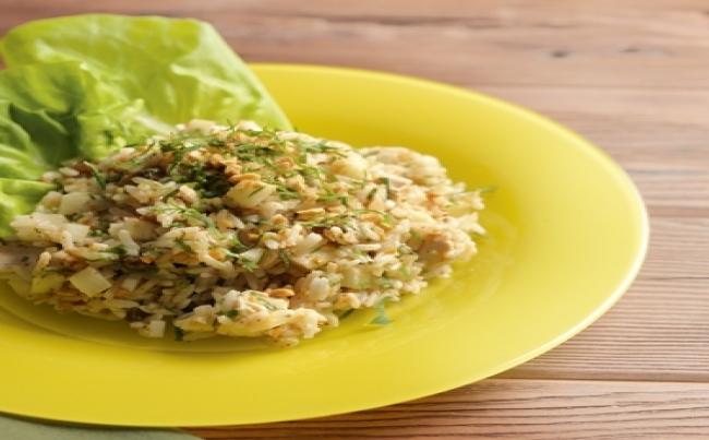 Ensalada de arroz recetas menu per - Ensalada de arroz light ...
